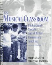 The musical classroom by Patricia Hackett