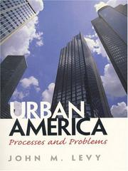 Cover of: Urban America