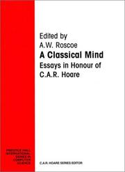 Cover of: Classical Mind, A | A. W. Roscoe