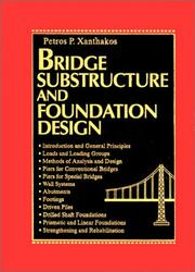 Cover of: Bridge Substructure and Foundation Design