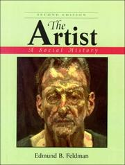Cover of: The Artist | Edmund Burke Feldman