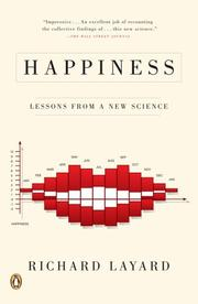 Cover of: Happiness | Richard Layard