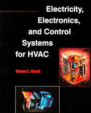 Cover of: Electricity, electronics, and control systems for HVAC