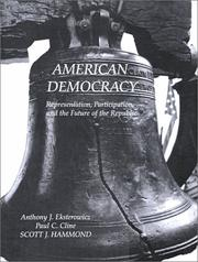 Cover of: American Democracy | Anthony J. Eksterowicz