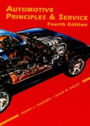 Cover of: Automotive principles and service
