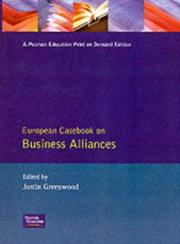 Cover of: European casebook on business alliances |