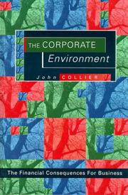 Cover of: The corporate environment