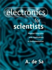 Cover of: Electronics for scientists