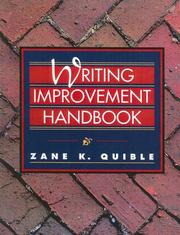 Cover of: Writing Improvement Handbook