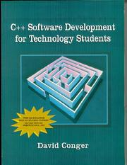 Cover of: C++ software development for technology students
