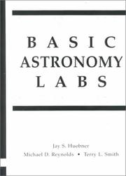 Cover of: Basic Astronomy Labs, Second Edition | Jay S. Huebner