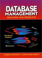 Cover of: Database management