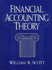 Cover of: Financial accounting theory