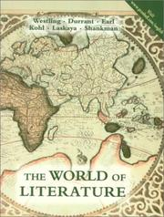 Cover of: The world of literature |