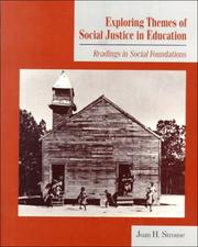 Cover of: Exploring themes of social justice in education