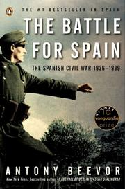 Cover of: The battle for Spain: the Spanish Civil War, 1936-1939