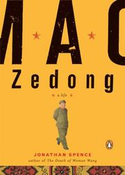 Cover of: Mao Zedong (A Penguin Life) | Jonathan D. Spence