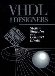 Cover of: VHDL for designers