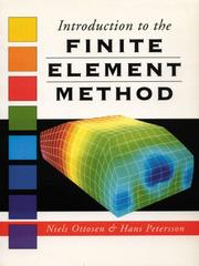 Cover of: Introduction to the Finite Element Methods | Niels Saabye Ottosen