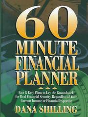 Cover of: 60-Minute Financial Planner (60-Minute Series)