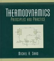 Cover of: Thermodynamics