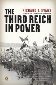 Cover of: The Third Reich in Power | Richard Evans