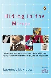 Cover of: Hiding in the Mirror