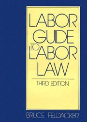 Cover of: Labor guide to labor law