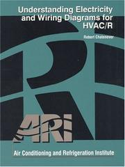 Cover of: Understanding Electricity and Wiring Diagrams for HVAC/R | Air Conditioning and Refrigeration Institute