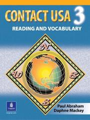 Cover of: Contact USA | Paul Abraham, Daphne Mackey