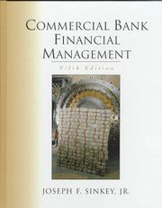 Cover of: Commercial Bank Financial Management (5th Edition) | Joseph F. Sinkey