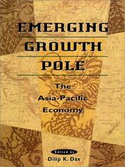 Cover of: Emerging Growth Pole | Dilip K. Das
