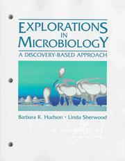 Cover of: Explorations in microbiology