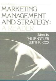 Cover of: Marketing Management and Strategy: A Reader