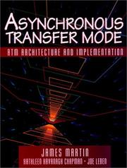 Cover of: Asynchronous transfer mode
