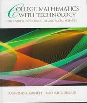 Cover of: College mathematics with technology