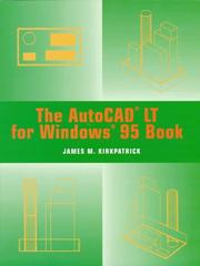 Cover of: The AutoCAD LT for Windows 95 book