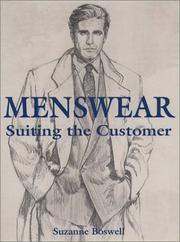 Cover of: Menswear | Suzanne Boswell