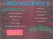 Career development by Monica E. Breidenbach