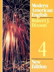 Cover of: Modern American English