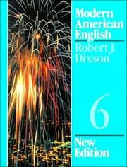 Cover of: Modern American English 6