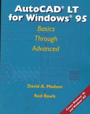 AutoCAD LT for Windows 95 by David A. Madsen, Rod R. Rawls