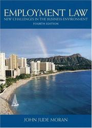Cover of: Employment Law (4th Edition) | John J. Moran