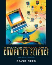 Cover of: Balanced Introduction to Computer Science, A