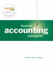 Cover of: Financial and Managerial Accounting Ch. 1-14 | Meg Pollard