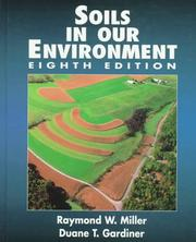 Cover of: Soils in our environment