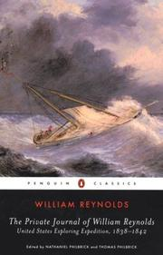 Cover of: The private journal of William Reynolds