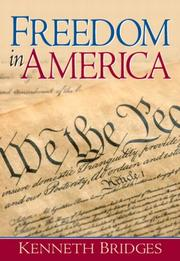 Cover of: Freedom in America | Kenneth Bridges