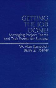 Cover of: Getting the job done!