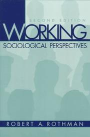 Cover of: Working